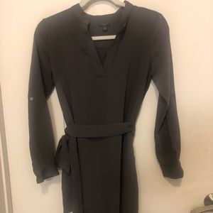 Ann Taylor belted dress; new!